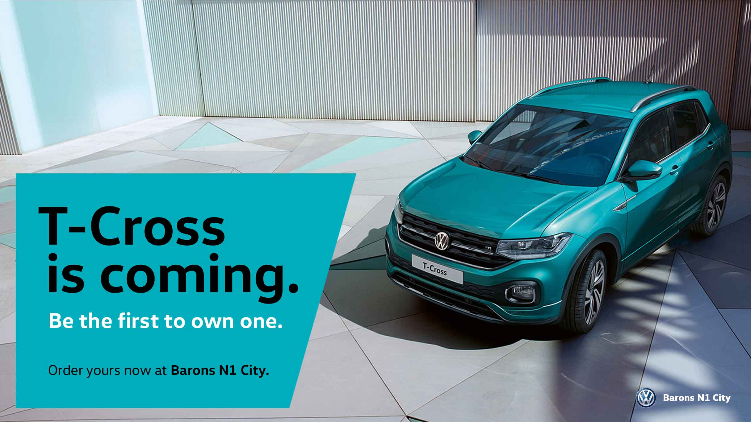 The VW T-Cross is coming to