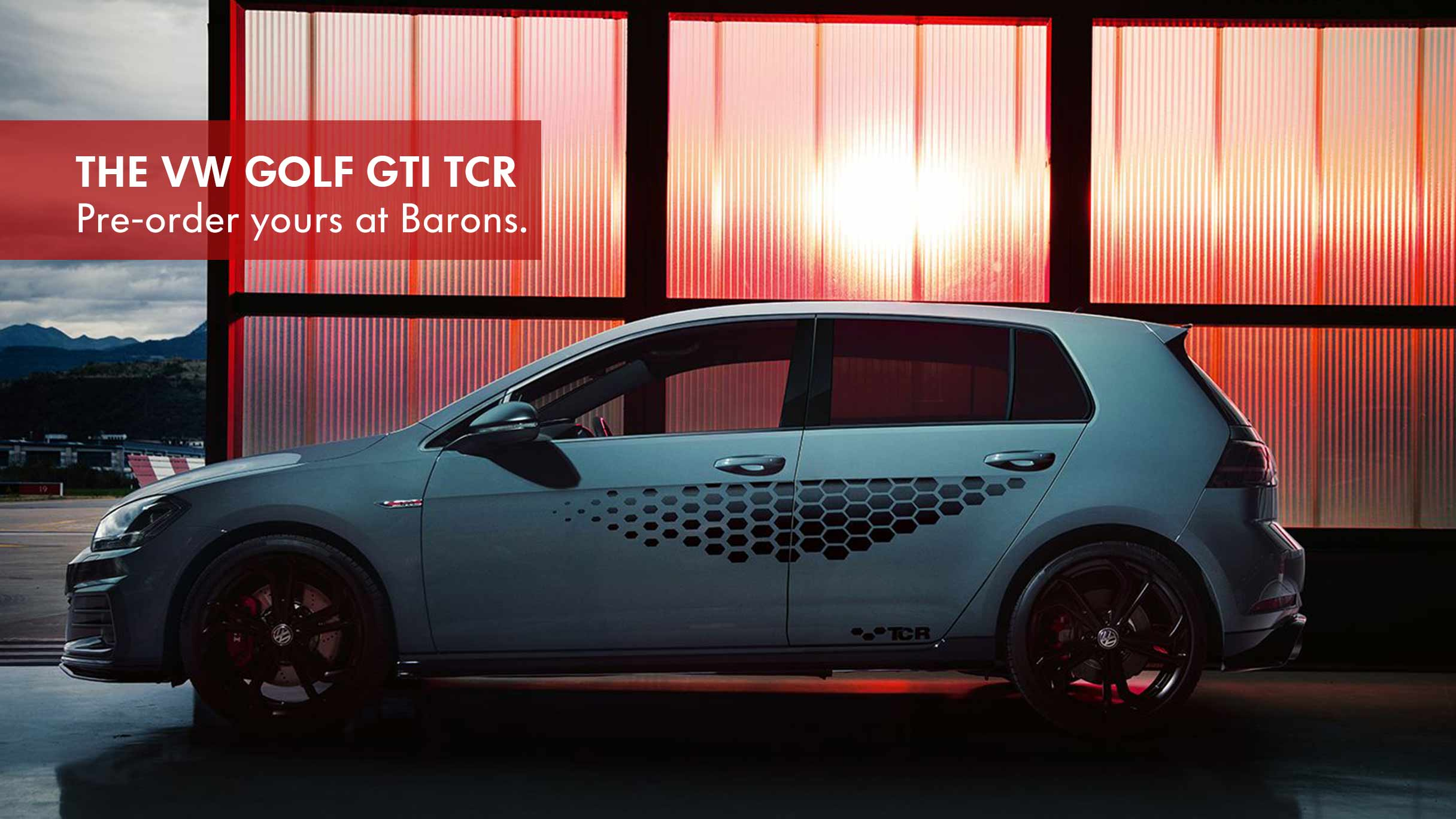 Golf GTI TCR at Barons N1 City