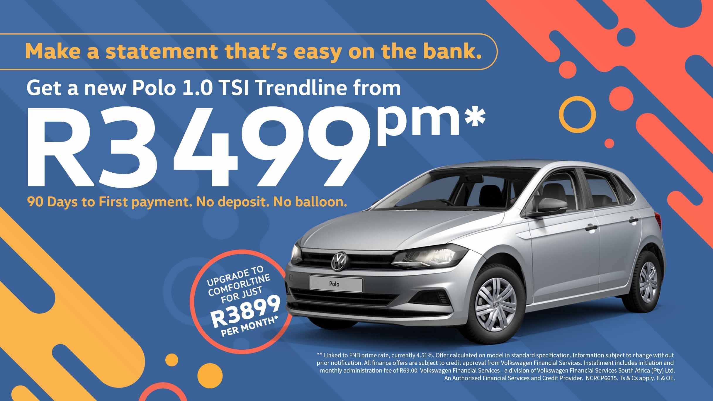 VW Polo Trendline special offer
